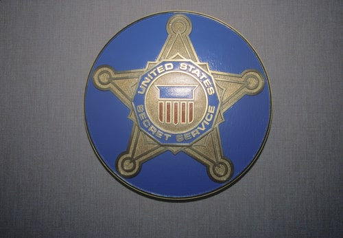 U.S. Secret Service Shield.