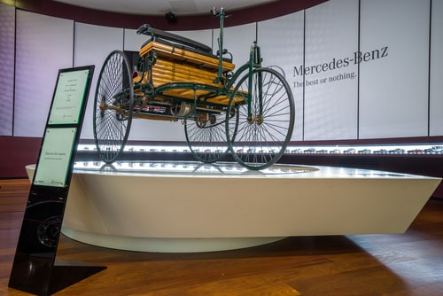 The world's first automobile
