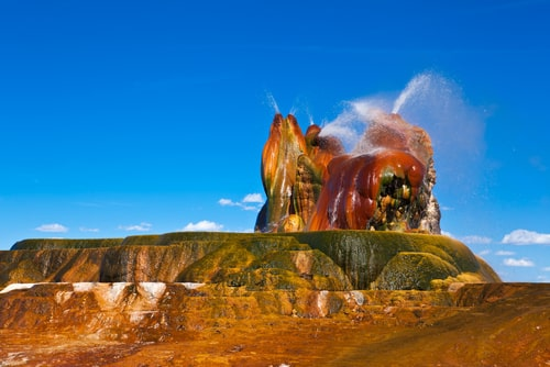 Fly geyser - Nevada USA