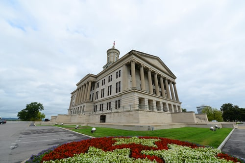 Tennessee State Capitol, Nashville, Tennessee, USA.